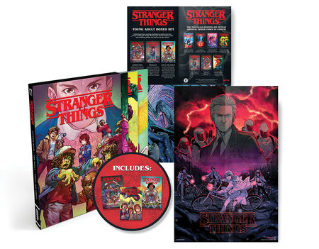 Stranger Things Graphic Novel Boxed Set (Zombie Boys, The Bully, Erica the Great )