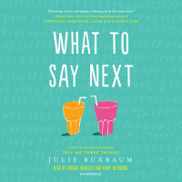 Cover of What to Say Next cover