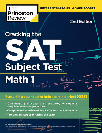 Cracking the SAT Subject Test in Math 1, 2nd Edition by Princeton ...