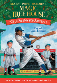 Book cover for A Big Day for Baseball