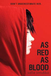 Book cover for As Red as Blood
