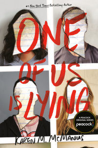 Book cover for One of Us Is Lying
