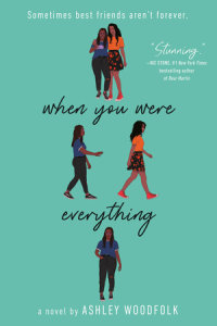 Book cover for When You Were Everything