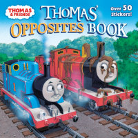 Book cover for Thomas\' Opposites Book (Thomas & Friends)