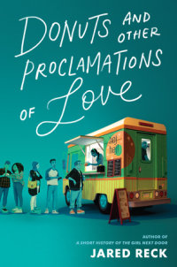 Book cover for Donuts and Other Proclamations of Love