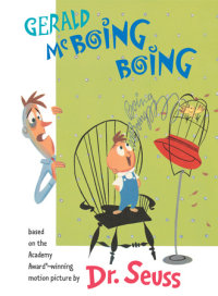 Book cover for Gerald McBoing Boing
