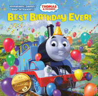 Book cover for Best Birthday Ever! (Thomas & Friends)