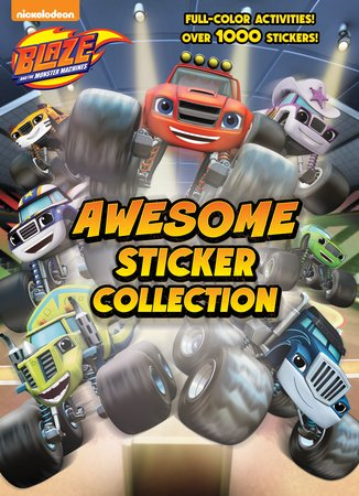 Blaze and the Monster Machines Awesome Sticker Collection (Blaze and the Monster Machines)