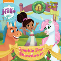 Book cover for Sparkle Fest Showdown! (Nella the Princess Knight)