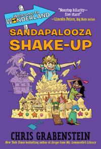 Book cover for Welcome to Wonderland #3: Sandapalooza Shake-Up