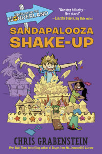 Cover of Welcome to Wonderland #3: Sandapalooza Shake-Up cover