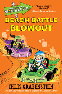 Book cover for Welcome to Wonderland #4: Beach Battle Blowout