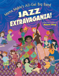 Cover of Mama Mable\'s All-Gal Big Band Jazz Extravaganza! cover