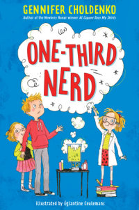 Book cover for One-Third Nerd