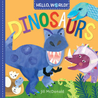 Cover of Hello, World! Dinosaurs cover