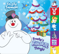 Book cover for Frosty\'s Favorite Things! (Frosty the Snowman)