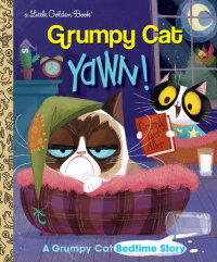 Book cover for Yawn! A Grumpy Cat Bedtime Story (Grumpy Cat)