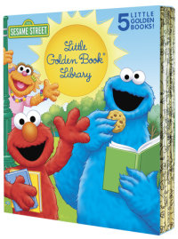 Book cover for Sesame Street Little Golden Book Library 5-Book Boxed Set