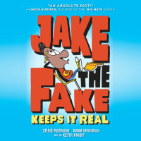 Cover of Jake the Fake Keeps it Real cover