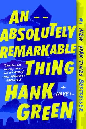 Cover image for An Absolutely Remarkable Thing