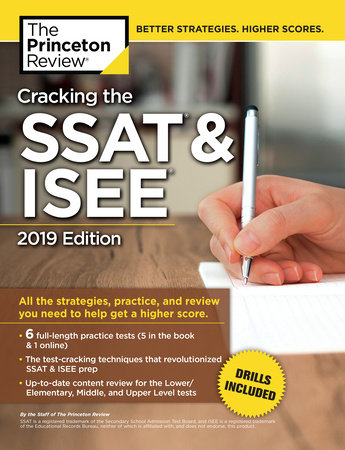 Cracking the SSAT & ISEE, 2019 Edition