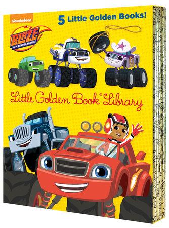 Blaze and the Monster Machines Little Golden Book Library (Blaze and the MonsterMachines)