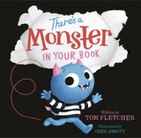 Book cover for There\'s a Monster in Your Book