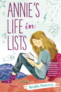 Cover of Annie\'s Life in Lists cover