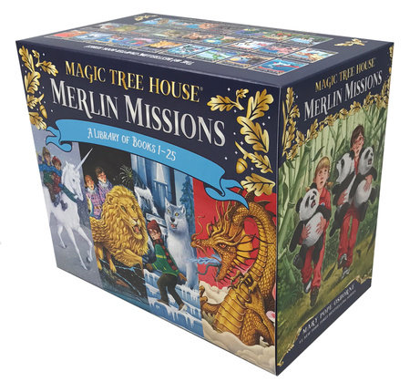 Magic Tree House Merlin Missions Books 1-25 Boxed Set