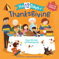 Book cover for The 12 Days of Thanksgiving