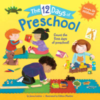 Book cover for The 12 Days of Preschool