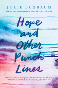 Book cover for Hope and Other Punch Lines