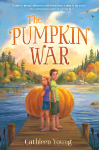 Book cover for The Pumpkin War