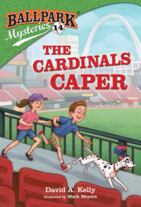 Book cover for Ballpark Mysteries #14: The Cardinals Caper