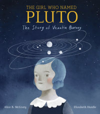 Book cover for The Girl Who Named Pluto