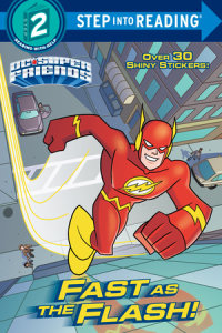 Book cover for Fast as the Flash! (DC Super Friends)