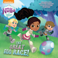 Book cover for The Great Egg Race! (Nella the Princess Knight)