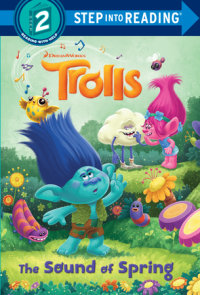 Cover of The Sound of Spring (DreamWorks Trolls) cover