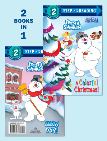 Colorful Christmas.Step Into Reading A Colorful Christmas Snow Day Frosty The Snowman