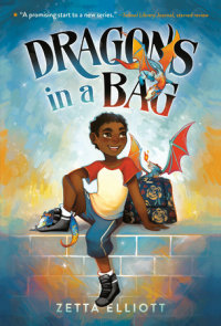 Book cover for Dragons in a Bag