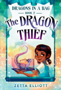 Book cover for The Dragon Thief