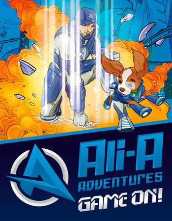 Ali-A Adventures: Game On! The Graphic Novel - Penguin
