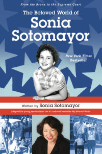 Cover of The Beloved World of Sonia Sotomayor cover