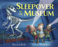 Cover of Sleepover at the Museum cover