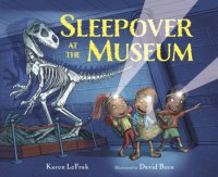 Book cover for Sleepover at the Museum