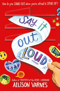 Cover of Say It Out Loud cover