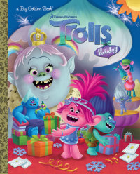 Book cover for Trolls Holiday Big Golden Book (DreamWorks Trolls)