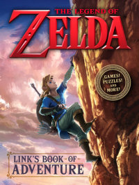 Book cover for Link\'s Book of Adventure (Nintendo)