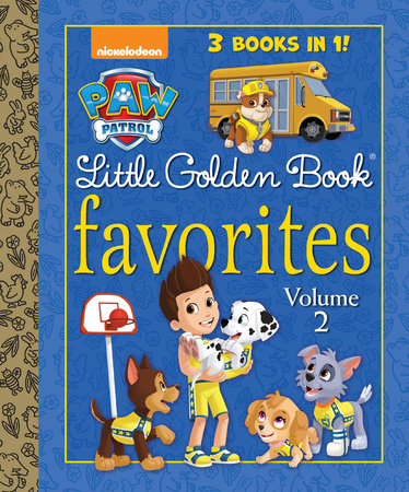 PAW Patrol Little Golden Book Favorites, Volume 2 (PAW Patrol)