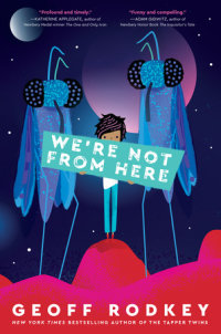 Cover of We\'re Not from Here cover